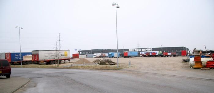 Motorvejs truck parkring